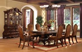 black formal dining room chairs elegant formal dining room sets