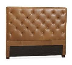 Tufted Leather Headboard Leather Tufted Headboard King Foter