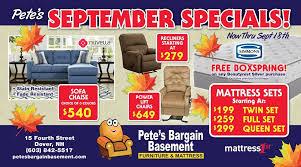 pete u0027s bargain basement furniture u0026 mattress home facebook
