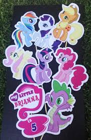 Personalized Party Decorations 122 Best Fiesta My Little Pony Images On Pinterest Birthday