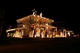 Christmas Decorations For Homes Exquisite Ideas Lighted Christmas Houses With Decorations Home