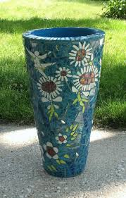 garden mosaic ideas mosaic planters for sale dancing flowers flower pot door