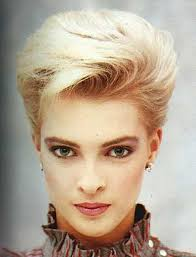 butch pixie haircut 70s blonde hairstyles with side swept bangs for short hair jpg 498
