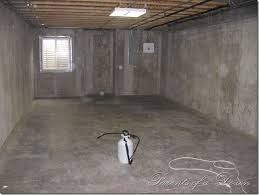 painting an unfinished basement some good tips on the process i