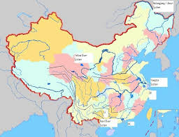rivers in china map sun bin china s river system and the painted veil