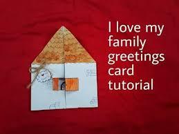 i my family greetings card tutorial