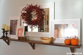 thanksgiving mantle balancing home with megan bray