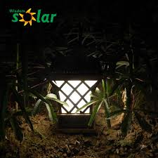 Solar Fence Lighting by European Style Garden Lamp Post Lights Solar Led Fence Post Lights