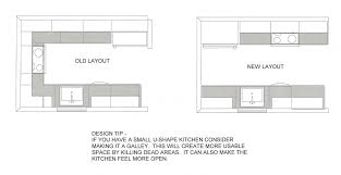 U Shaped House by Simple Kitchen Floor Plans