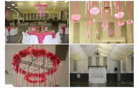 How To Decorate A Chandelier Ceiling Decorations For Weddings Youtube