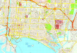 United States Street Map by United Illustrator Eps City U0026 Country Maps Part 8