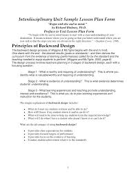 backwards design lesson plan margusriga baby party the use of