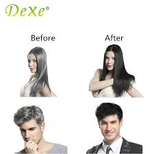 Wash Hair Before Color - 10pcs set dexe black hair shampoo hair color only 5 minutes white