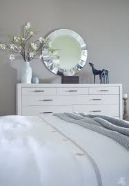 White Bedroom Tour A Transitional Master Bedroom Tour Zdesign At Home