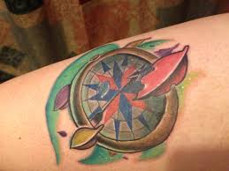 Color Of The Wind Pocahontas Compass Tattoo