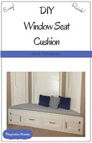 How To Make A Window by Best 25 Window Seat Cushions Ideas Only On Pinterest Large Seat