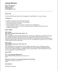 Procurement Analyst Resume Sample by Mis Resume Resume Characterworld Co