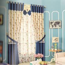 Kid Blackout Curtains Curtains Blackout Curtains For Kids Cotton Fabric Navy