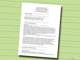 resumes with color 7 ways to make a resume wikihow