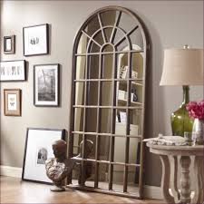 furniture large round wall mirror floor length wall mirror round