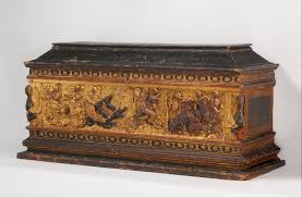 marriage chest cassone italian florence or lucca the met