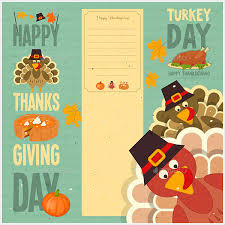 22 beautiful happy thanksgiving cards free psd vector ai eps