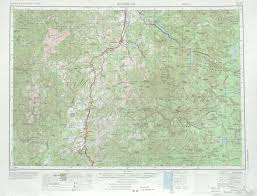 Roseburg Oregon Map by Free U S 250k 1 250000 Topo Maps Beginning With