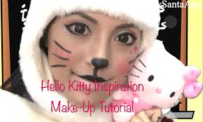 how to do inspiration hello kitty makeup fun u0026 great for