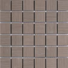 grays backsplash mosaic tile tile the home depot