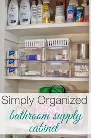 how to organize bathroom cabinets organized bathroom supply cabinet organized bathroom organizing