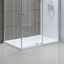1200mm Shower Door by Clarity 6mm Sliding Shower Door With Tray 1200mm Victoriaplum Com