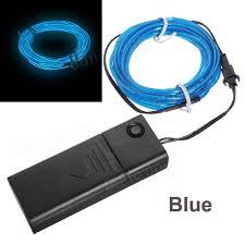3m 10 colors neon el wire light decor light