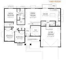 make floor plan hailey rambler floor plan utah edge homes