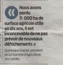 chambre agriculture des landes agriculture en haute lande le de