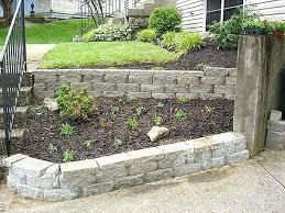 Small Garden Retaining Wall Ideas Retaining Garden Wall Ideas Swebdesign