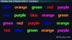 the stroop effect in psychology definition test u0026 experiment