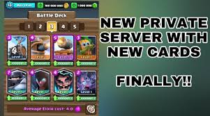 clash of lights update clash royale latest private server 1 9 0 with new cards apk june