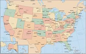 map of usa with major cities us map showing all cities usa map showing major cities thempfa org
