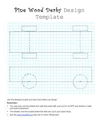 pinewood derby templates free printable online calendar
