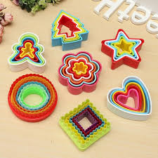 the best price frill flower shape cookie cutters cake baking