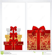 voucher gift certificate coupon template box stock images