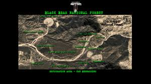Fallout New Vegas World Map by Black Bear National Forest Map Image Fallout New California Mod