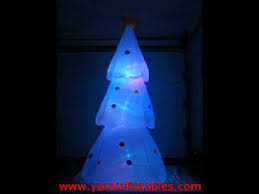 gemmy airblown color changing tree and