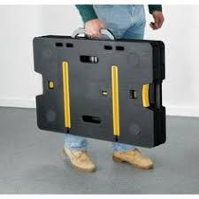 portable workstation garage folding work table construction