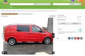 mercedes vito vans for sale mercedes vito dualiner for sale on ebay 2018 2019 car release
