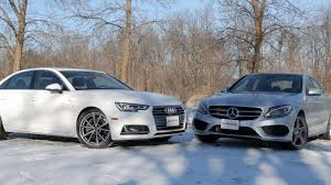 mercedes c300 wallpaper 2017 audi a4 vs 2017 mercedes benz c300 autoguide com news