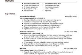 Store Manager Resume Example by Resume Auto Repair Shop Manager Resume Auto Body Painter Resume