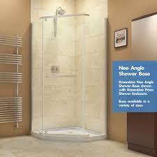 Bathroom Shower Base Dreamline Slimline 36 X 36 Neo Angle Single Threshold Shower