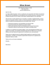 10 cover letter for accounting incidental report