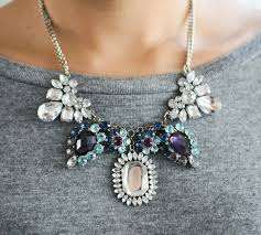 diy necklace statement images Diy rhinestone and chain statement necklace craftsology jpg